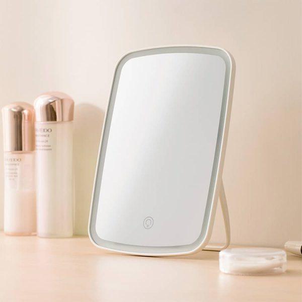آینه آرایشی LED رومیزی جردن و جودی شیائومی مدل NV026 نسخه استاندارد